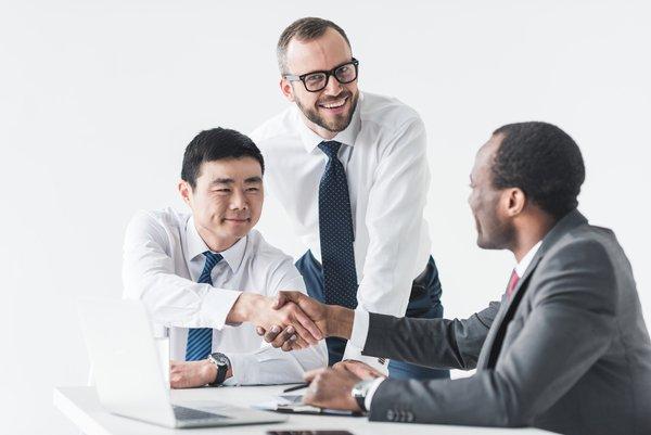 JV Broker handshake